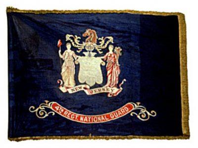 Regimental Flag, 4th Regiment, New Jersey National Guard (Post Civil War) (CN 24)