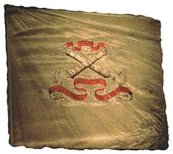 Battery Flag - Hexamer's Battery, 1st Regiment, NJ Artillery (CN 119)