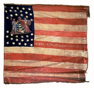 US Flag - 8th Regiment, NJ Volunteers (CN 35)