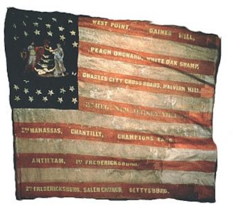 US Flag - 3rd Regiment, NJ Volunteers (CN 20)