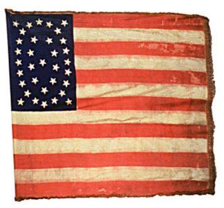 US Flag - 15th Regiment, NJ Volunteers (CN 73)