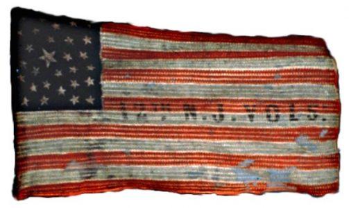 US Flag - 12th Regiment, NJ Volunteers (CN 62)