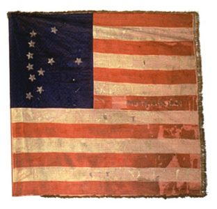 US Flag - 12th Regiment, NJ Volunteers (CN 64)